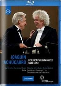 Joaquin Achucarro : Ricital & Berliner Phil. Concert (호아킨 아추카로 : 리사이틀 & 베를린필 콘서트) [블루레이] [수입]