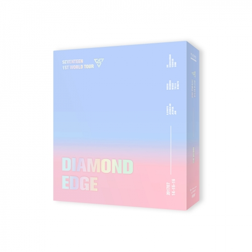 세븐틴 (Seventeen) DVD - 2017 Seventeen 1st World Tour Diamond Edge In Seoul Concert DVD