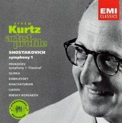Efrem Kurtz - profile: Prokofiev, Shostakovich, Glinka, Rimsky-Korsakov, Liadov, Khachaturian, Kabalevsky [수입]