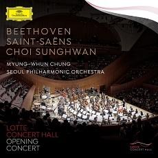 Beethoven - Leonore Overture No.3 Op.72a, Saint-Saens - Symphony No.3 / Myung-Whun Chung (베토벤 - 레오노레 서곡 3번 Op.72a & 생상스 -교향곡 3번 Op.78 '오르간', 최성환 - 아리랑환상곡 / 정명훈, 서울시립교향악단)