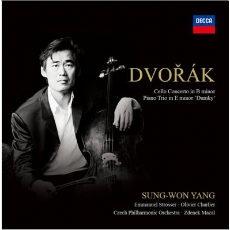 Dvorak - Cello Concerto & Piano Trio 'Dumky' / Sung-Won Yang (드보르작 - 첼로 협주곡 & 피아노 삼중주 '둠키' / 양성원)