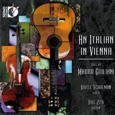 An Italian In Vienna : Duos By Muro Giuliani - Louise Schulman - Bul Zito (줄리아니 - 비올라와 기타를 위한 이중주) [수입] [Viola]