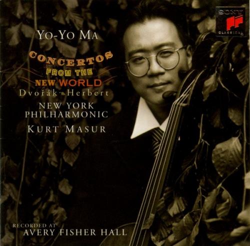 Dvořák & Herbert – Concertos From The New World / Yo-Yo Ma, New York Philharmonic, Kurt Masur (드보르작 & 허버트 - 첼로 협주곡) [Cello]