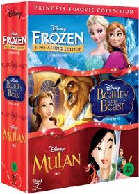 겨울왕국 싱어롱 박스 Vol.2 (4disc) [DVD]