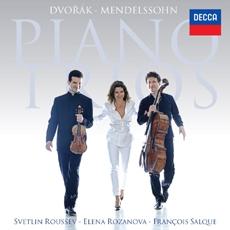 Dvorak & Mendelssohn - Piano Trios / Svetlin Roussev, Elena Rozanova, Francois Salque (드보르작 - 피아노 3중주 Op. 90 '둠키' / 멘델스존 - 피아노 3중주 Op. 49)