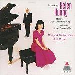Helen Huang - Beethoven, Mozart : Piano Concerto (베토벤 & 모차르트 - 피아노 협주곡) [수업] [Piano] (포장지 손상)