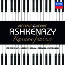 Vladimir & Vovka Ashkenazy - Ruissan Fantasy: Mussorgsky, Rachmaninov, Glinka, Scriabin, Borodin (블라디미르 아쉬케나지 & 보브카 아쉬케나지 : 러시안 판타지) [Piano]