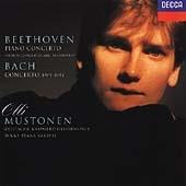 Beethoven - Piano Concerto, Bach - Concerto / Olli Mustonen [Piano]