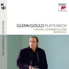 Glenn Gould Plays Bach : The Well-Tempered Clavier, Books I & II (글렌 굴드가 연주하는 바흐 : 평균율 전집 1, 2권 BWV 846-893) [4CD] [The Glenn Gould Collection Vol. 4] [수입]
