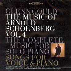 Schonberg - The Music Of Arnold Schoenberg Vol. 4 - The Complete Music for Solo Piano (쇤베르크 - 피아노 독주 작품집 제4집) [Jubilee Edition] [수입] [Piano] (포장지 손상)