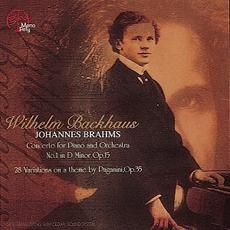 Wilhelm Backhaus - Brahms (브람스 - 피아노 협주곡 1번, 파가니니 주제에 의한 28개 변주곡) [Piano]