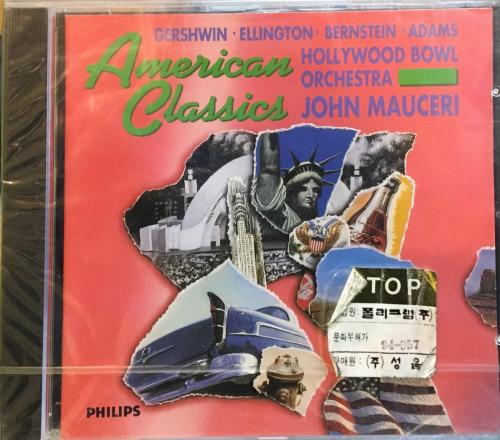 American Classics: Gershwin, Duke Ellington, Bernstein, John Adams / Hollywood Bow, Orchestra, John Mauceri [수입] [현대음악]