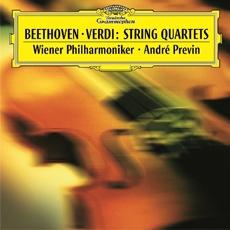 Beethoven & Verdi - String Quartets / Andre Previn, Wiener Philharmoniker (베토벤 & 베르디 : 현악 오케스트라를 위한 4중주)