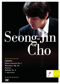 Seong-Jin Cho : Chopin - Piano Concerto No. 1 & Fantasy (Chopin Piano Competition Warsaw 2015) (조성진 - 2015 쇼팽 콩쿠르 우승 실황 / 피아노 협주곡 1번, 네 곡의 마주르카 Op. 33, 에튀드와 환상곡) [DVD]