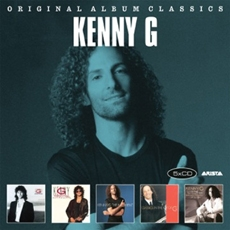 Kenny G - Original Album Classics / Duotones, Silhouette, The Moment, Classics In The Key Of G, I'm In The Mood For Love [5CD] [수입]