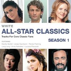 All-Star Classics : Core Classic - White / Bartoli, Kaufmann, Fleming, Lang Lang, Netrebko, Pavarotti [2CD]
