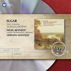 Elgar - Violin Concerto & Introduction and Allegro / Nigel Kennedy, London Philharmonic Orchestra, Vernon Handley (엘가 - 바이올린 협주곡, 현을 위한 서주와 알레그로 Op. 47) [수입]