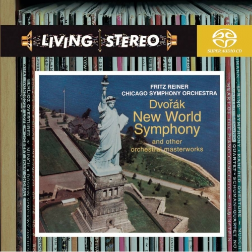 Dvorak : Symphony No 9 'From the New World', Smetana, Weinberger / Chicago Symphony Orchestra, Fritz Reiner (드보르작 - 교향곡 9번 '신세계로부터', 카니발 서곡 Op.92 / 스메타나 - '팔려간 신부' 서곡 / 바이베르거 - 슈반다 '폴카와 푸가') [수입] [SACD]