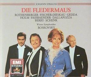 Johann Strauss - Die Fledermaus / Wiener Symphoniker, Boskovsky [2CD] [수입] [Opera]