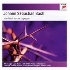 Bach - Matthaus Passion Bwv 244 / Arleen Auger, Julia Hamari, Aldo Baldin, Philippe Huttenlocher, Gachinger Kantorei,  Bach Collegium Stuttgart, Helmuth Rilling (바흐 - 마태 수난곡, 하이라이트) [수입]