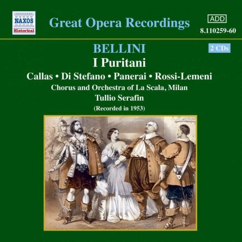 Bellini - I Puritani (벨리니 - 이 푸리타니) / Tullio Serafin, Vittore Veneziani [수입] [오페라]