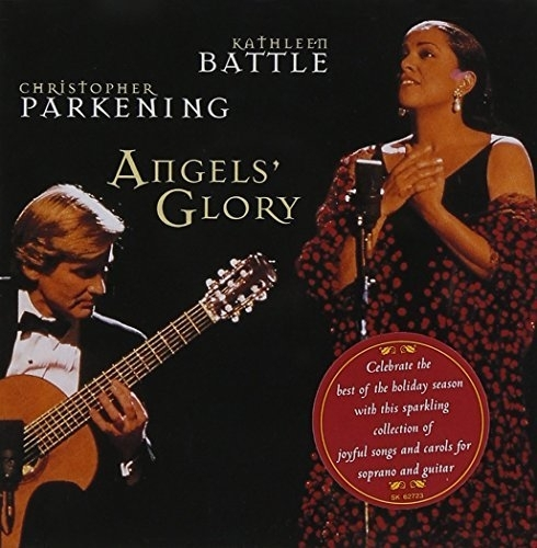 Angel's Glory / Kathleen Battle, Christopher Parkening [수입] [여자성악가] (포장지 손상)