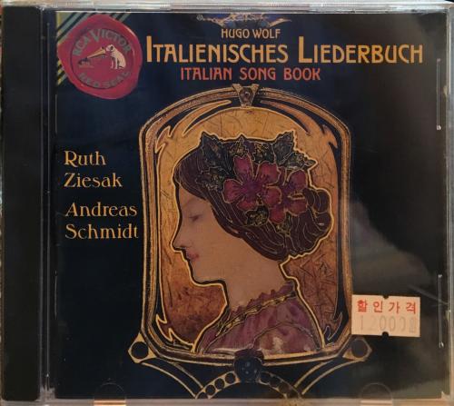 Italienisches Liederbuch / Ruth Ziesak, Andreas Schmidt [수입] [오페라]