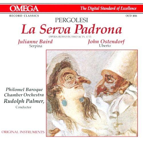 Giovanni Battista Pergolesi (페르골레지)- La Serva Padrona (마님이 된 하녀) / Rudolf Palmer, Elissa Berardi, Julianne Baird, John Ostendorf [오페라]