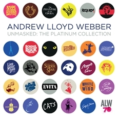 Andrew Lloyd Webber - Unmasked : The Platinum Collection [2CD] [Musical]