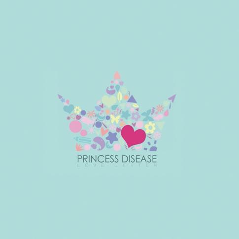 프린세스 디지즈 (Princess Disease) - EP 2집 Love Letter (케이스 손상)