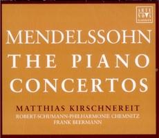 Felix Mendelssohn - The Piano Concertos / Matthias Kirschnereit, Frank Beermann (멘델스존 - 피아노 협주곡집) [2CD] [수입]