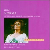 Bellini - Norma / Joan Sutherland, Marilyn Horne, John Alexander, Richard Cross, Yvonne Minton, Joseph Ward, Richard Bonynge [수입] [Opera]