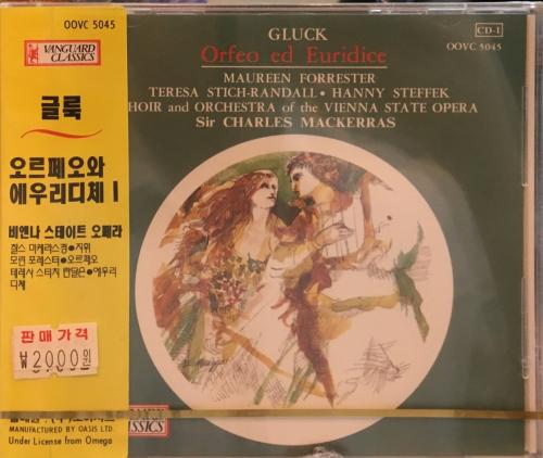 Gluck - Orfeo ed Euridice / Maureen Forrester, Teresa, Stich-Randall, Hanny Steffek etc. [Opera]