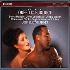 CHRISTOPH WILLIBALD GLUCK : ORFEO ED EURIDICE (Highlights) / Sylvia McNair, Derek Lee Ragin, Cyndia Sieden, Monteverdi Choir, English Baroque Soloists, John Eliot Gardiner (글룩 : 오르페오와 에우리디체, 발췌) [Opera]