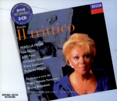 Giacomo Puccini - Il Trittico (자코모 푸치니 - 외투 삼부작) [3CD] [수입] [Opera]