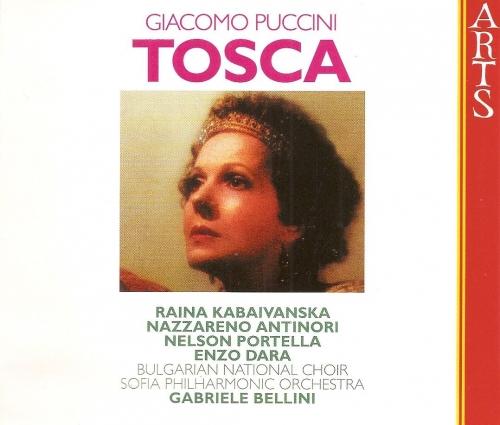 Giacomo Puccini - Tosca / Raina Kabaivanska, Nazzareno Antinori, Nelson Portella, Enzo Dara, Gabriele Bellini [수입] [Opera]
