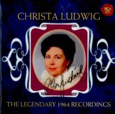 Christa Ludwig - The Legendary 1964 Recordings ( 크리스타 루드비히 - 1964년 녹음 모음집) [수입] [여자성악가]