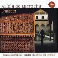 Alicia de Larrocha(알리시아 데 라로차) (piano) - Granados : Escenas Romanticast [뉴에이지]