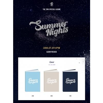 트와이스(TWICE) - SUMMER SPECIAL 2집 <포스터+초회한정포토카드> <버전 선택 가능> Dance The Night Away 댄스 더 나잇 어웨이 컴백