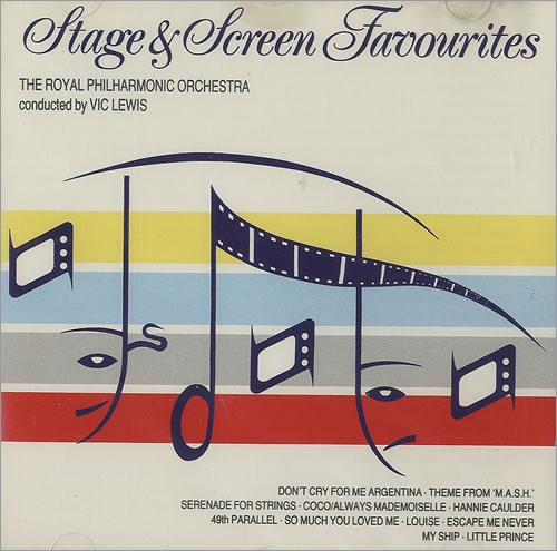 THE ROYAL PHILHARMONIC ORCHESTRA conducted by VIC LEWIS Stage & Screen Favourites [수입] [뉴에이지]