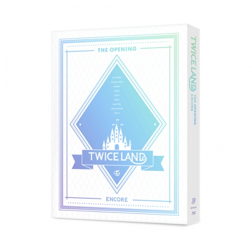 "트와이스 (TWICE) - ""TWICELAND"" The Opening [Encore] Blu-ray [ 2Blu-ay + 28p 포토 써머리 + 렌티큘러 ]"