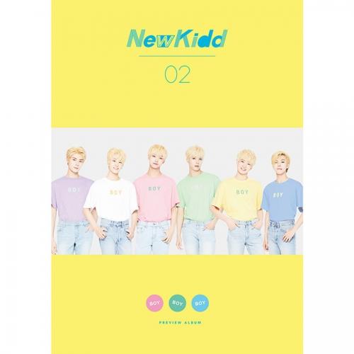 뉴키드 (NewKidd) - 프리뷰 2집 <포스터> Boy Boy Boy
