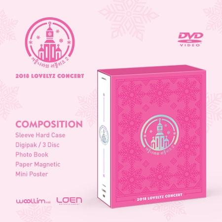 러블리즈 (Lovelyz) - 2018 LOVELYZ Concert 겨울나라의 러블리즈2 DVD