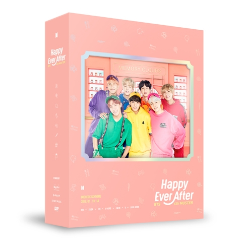 방탄소년단 (BTS) - BTS 4th MUSTER : Happy Ever After DVD