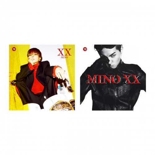 "송민호 1집 - MINO FIRST SOLO ALBUM : XX ""[Ver. 1/2] <포스터> 아낙네"